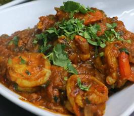Garlic Shrimp Bhuna